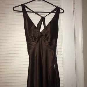 Brown dress size 4